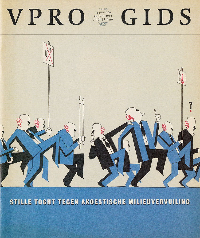 cover VPRO-gids over een stille tocht